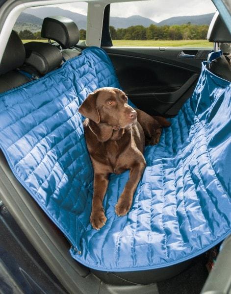 Kurgo wasserdichter reversibler Autositzbezug für Rücksitze von Autos für Hunde und Haustiere