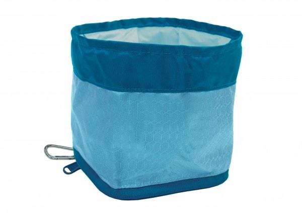Kurgo zusammenklappbarer und tragbarer Hunde - Beutel und Futternapf - faltbare Hundenapf für Wasser