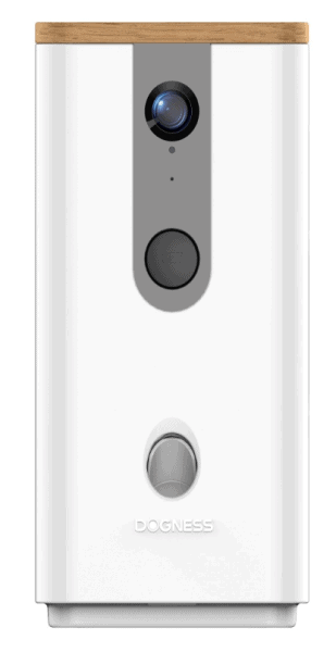 Smarte Hunde Kamera mit Leckerli Automat, WiFi, HD Nachtsicht, 2-Wege-Audio, App