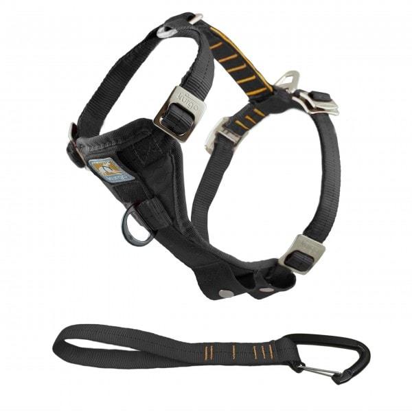 Kurgo Tru-Fit Leine, Halsband für Hunde, No Pull Hundegeschirr, Frontclipfunktion, Hunde-Zubehör