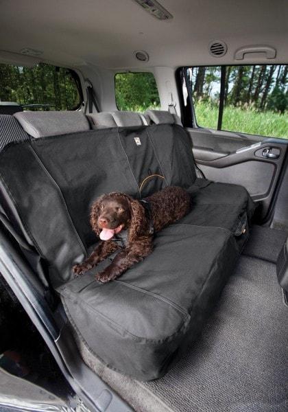 Kurgo Hundedecke für Auto Rückbank - Auto-Sitzbezug für Hunde und andere Haustiere - 140 cm breit