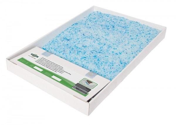 Petsafe Ersatzschale mit Silikat-Katzenstreu Blau für ScoopFree (1er-Pack)