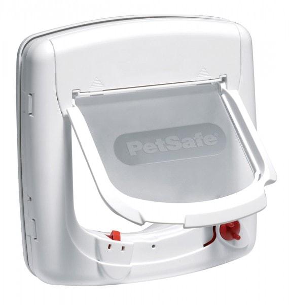 Petsafe Infrarot-Katzenklappe Staywell Deluxe mit 4 Verschlussoptionen