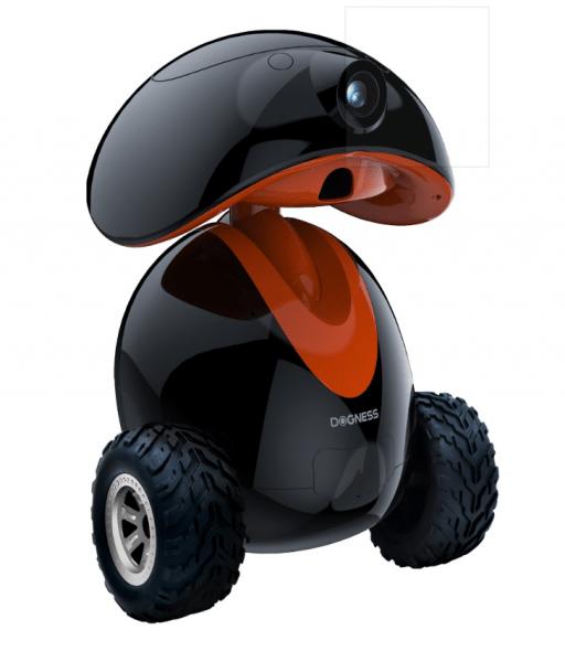 Dogness Ipet intelligenter Roboter für Haustiere mit Kamera & Leckerchenspender