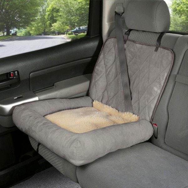 PetSafe Happy Ride Auto-Hundebett, robuster Schalensitzschutz und Hundebett